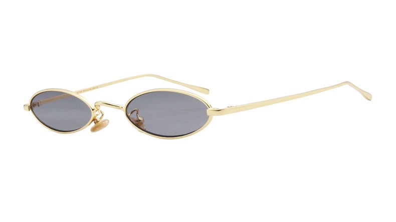 Vincent Tiny Oval Sunglasses