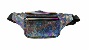 Glittered Camo Belt Bag