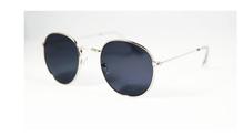 Hybrid Small Round Aviator Sunglasses