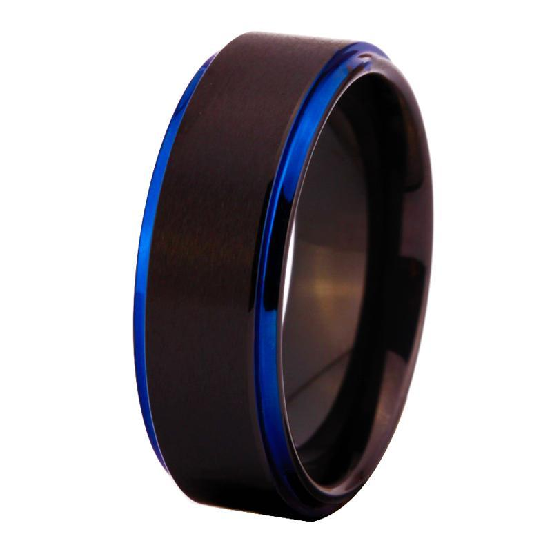 Tungsten Comfort Fit Ring For Woman