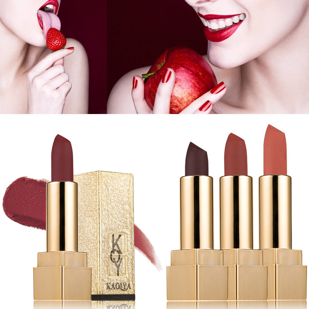 Waterproof Matt Lipstick Smooth Lips