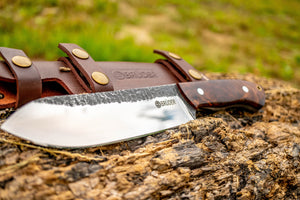 Bruder Brute Camp Knife - Desert Ironwood