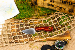 Skinner/EDC knife - Bloodwood