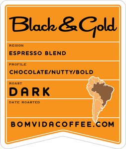 Black and Gold Espresso Blend