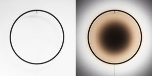 Eclipse 90cm - Natural wood