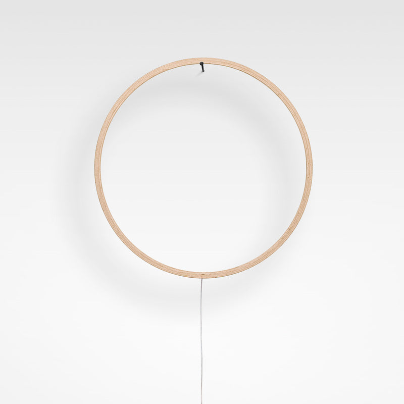 Eclipse 70cm - Natural wood