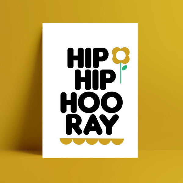 Hip Hip Hooray - Kirsty Mason Designs