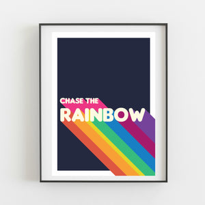 Chase the rainbow - Kirsty Mason Designs