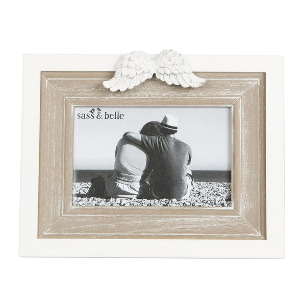 Angel Wings Photo Frame - Landscape Only