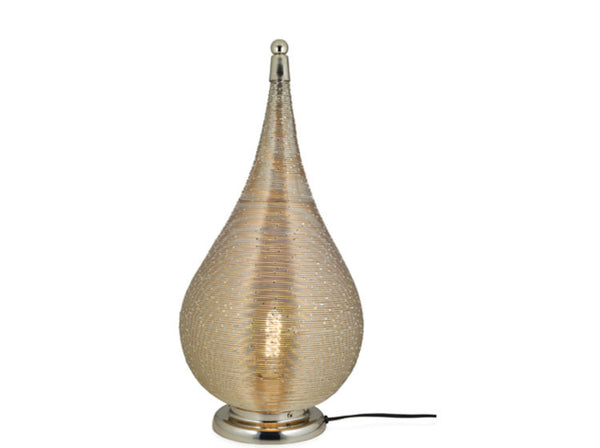 Coil Teardrop Lamp Large