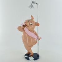 Comical Pig - In The Shower