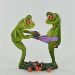Comical Frogs - Cheeky