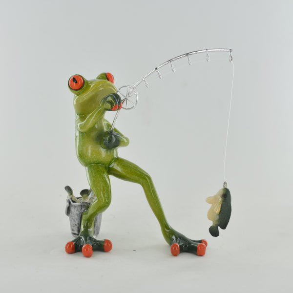 Comical Frogs - Fishing