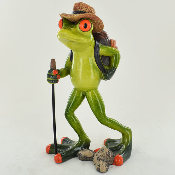Comical Frogs - Hiker