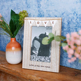 Love Bunting Photo Frame