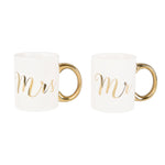 Mr & Mrs Gold Mug