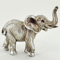 Antique Silver Elephant Small
