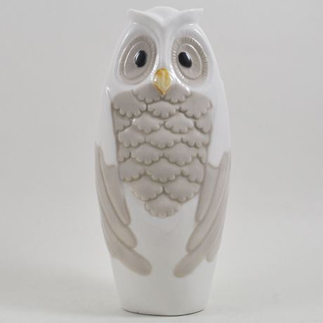 Ceramic Tall Owl Ornament