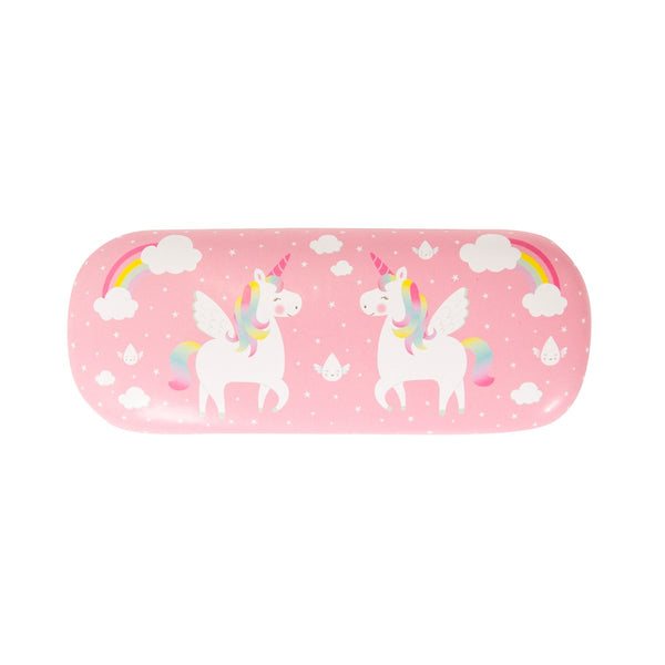 Rainbow Unicorn  Glasses Case