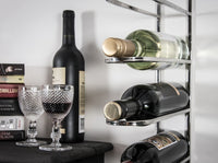 Silver Wall Hanging Wine Rail x 6