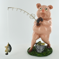 Comical Pig - Fishing