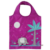 Foldable Shopping Bag - Elephant