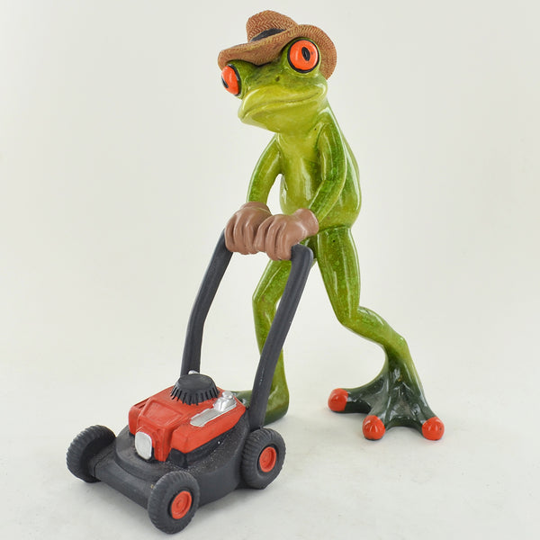 Comical Frogs - Gardener