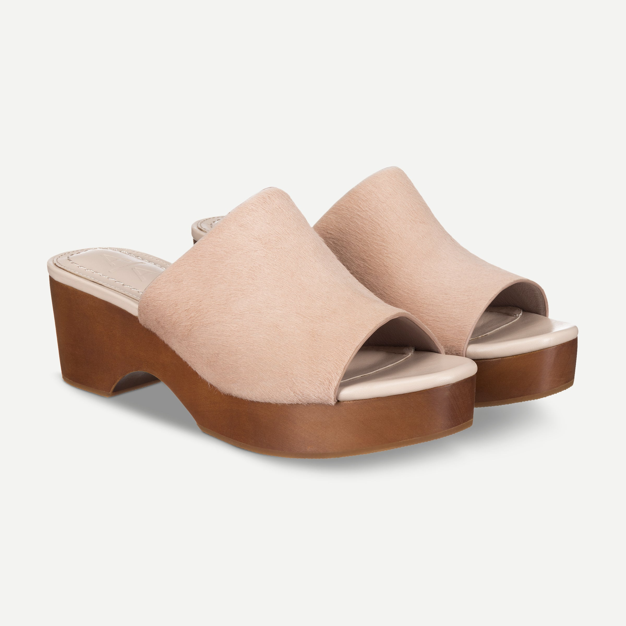 Drew Platform Blush Haircalf