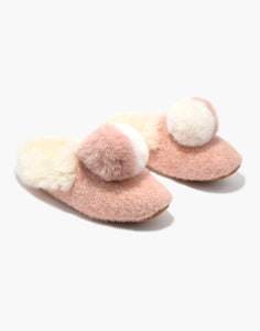 Dade Pom Slipper Blush