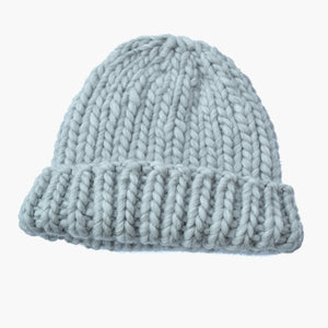 Peruvian Highland Wool Beanie Grey