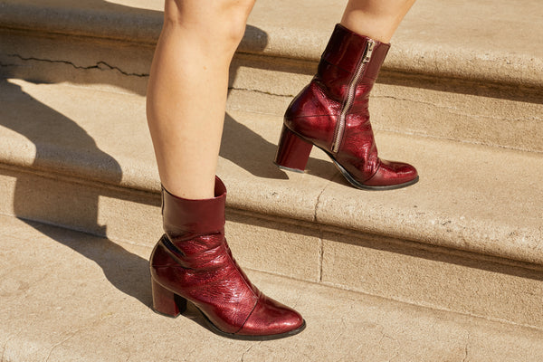 Carmen Ankle Boot Vino