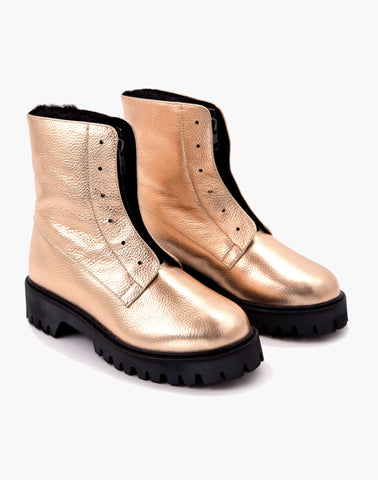 Kian All Weather Boot Rose Gold