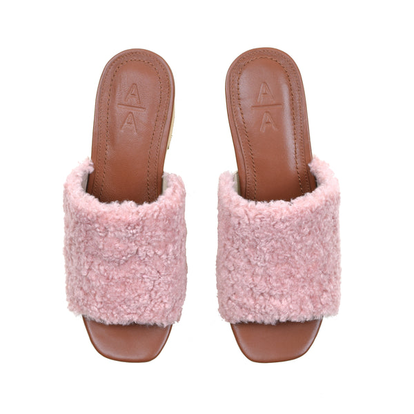 Lilly Slip-on Platform Blush - Ariana Bohling