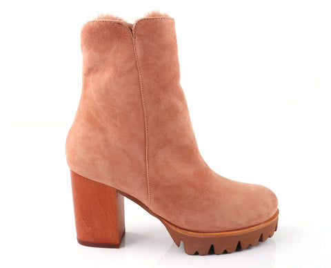 Percy Winter Boot Blush