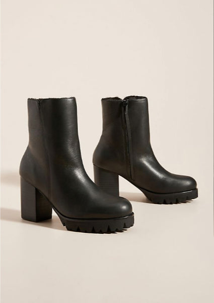 Percy Winter Boot Black