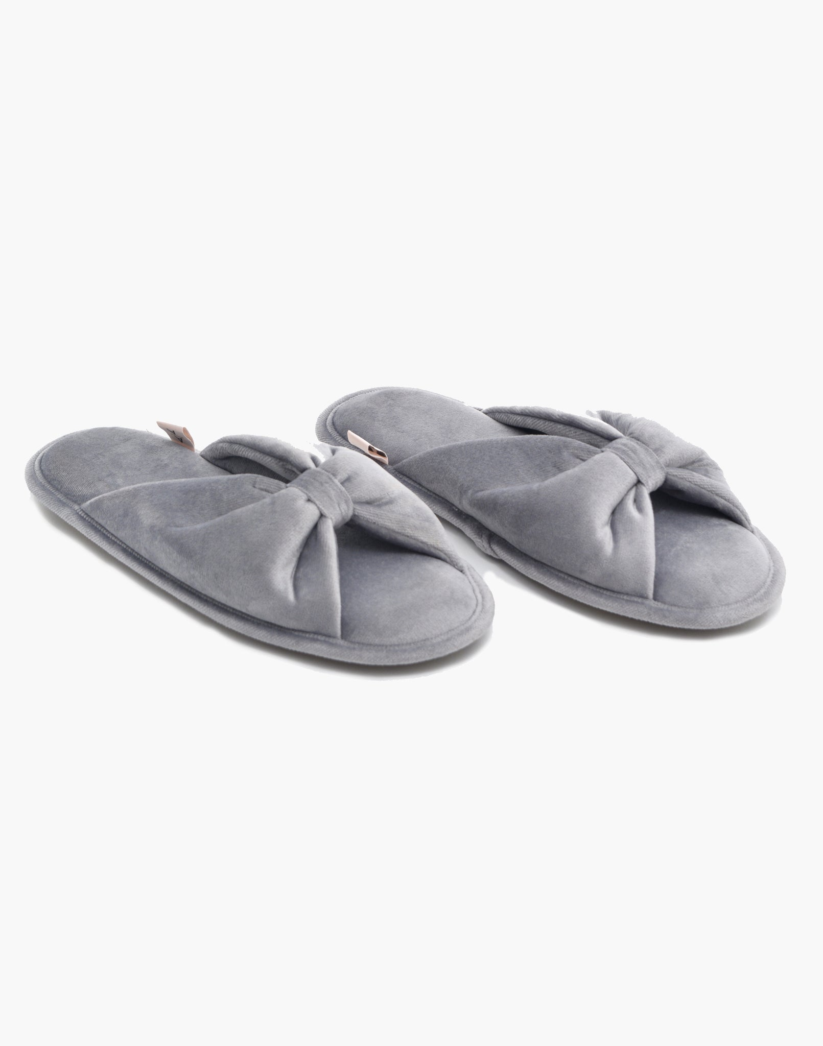 Spa Slide Slipper Grey