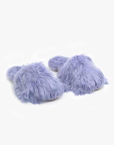 Suri Alpaca Slipper Dusty Lilac