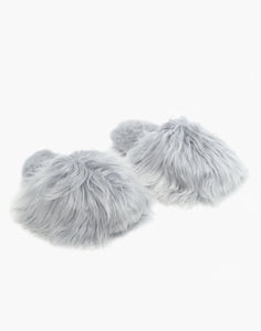 Suri Alpaca Slipper Grey