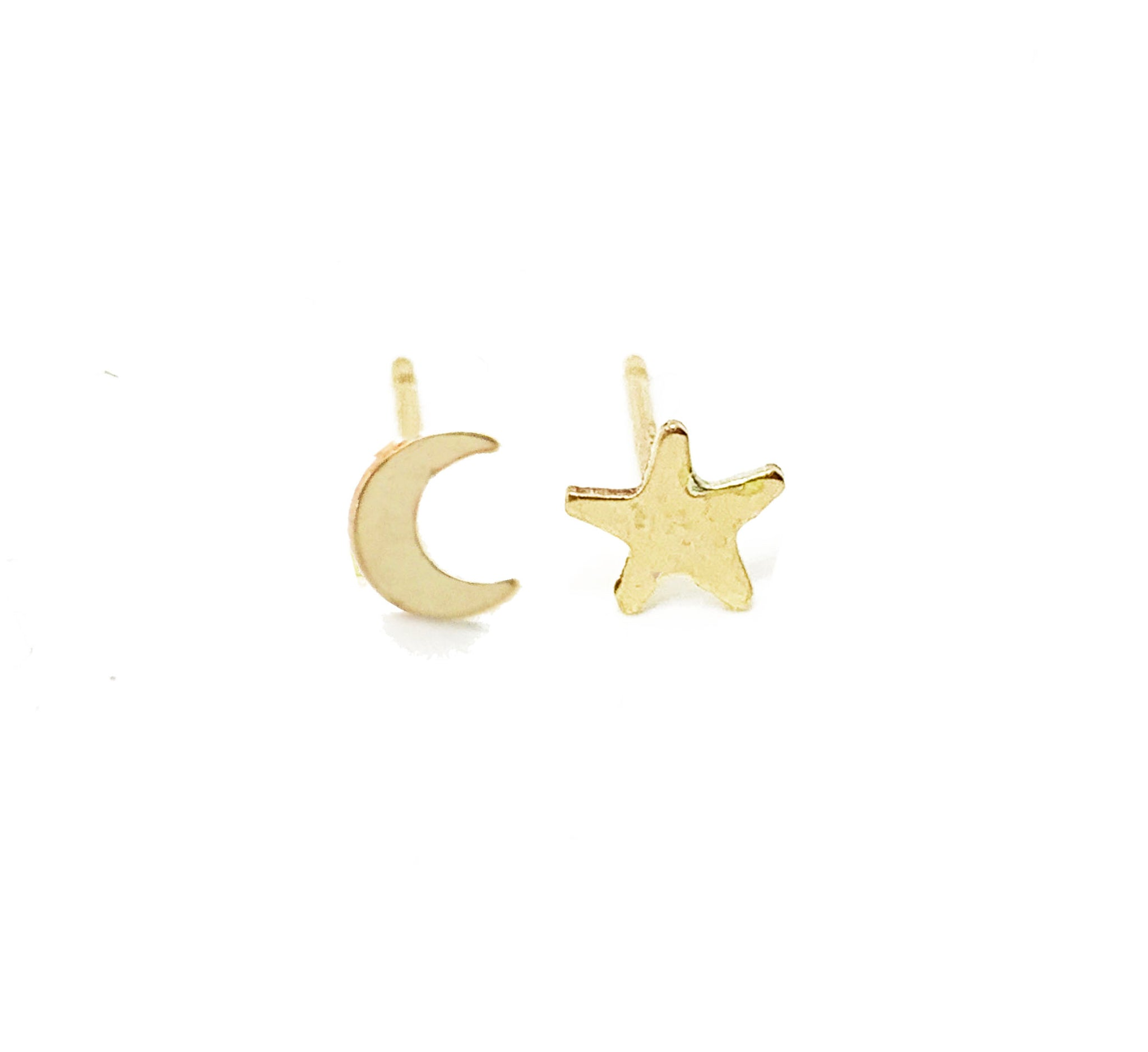 Selah Vie Moon & Star stud earrings