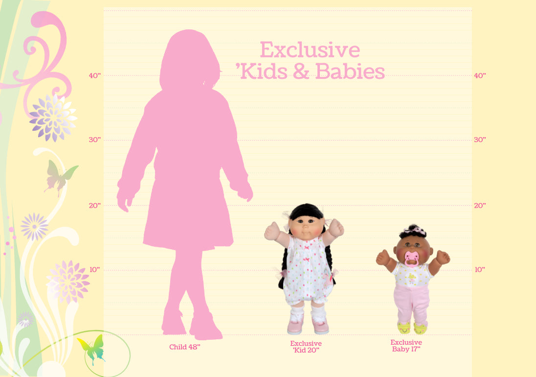 Exclusive Kids & Babies Size Chart