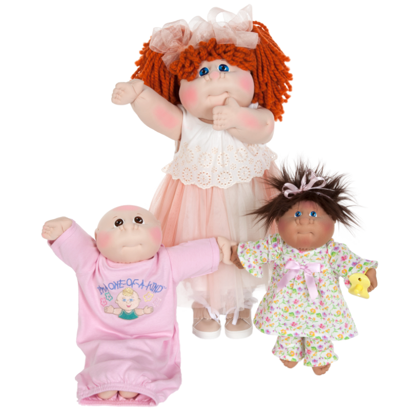 Hand-stitched Original <br>Cabbage Patch Kids