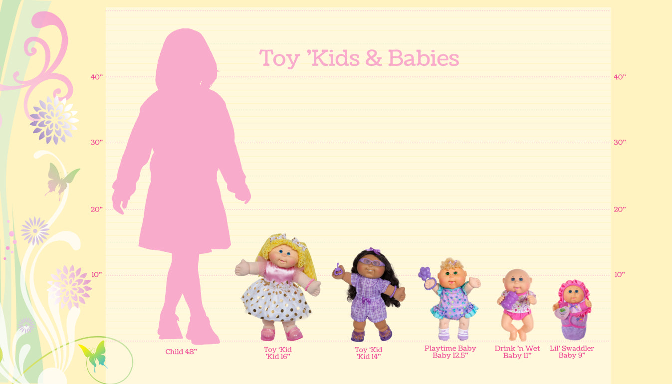 Toy Kids & Babies Size Chart