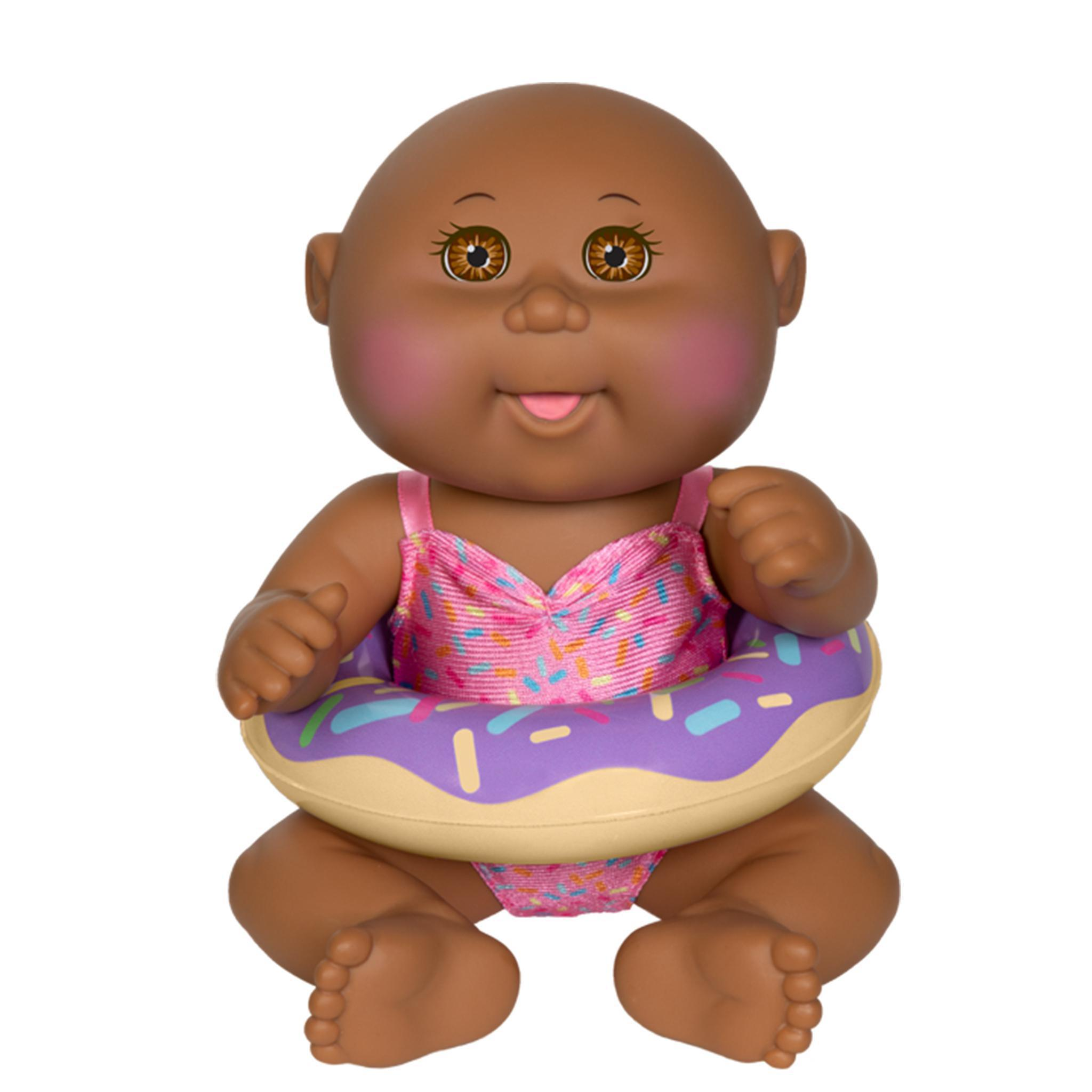 """Pink Cabbage Patch Kids Bubble /'n Bath Baby Doll 9/"""""""