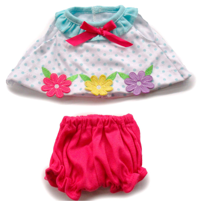 Baby Girl Fashion Flower Dress Fits 12.5""