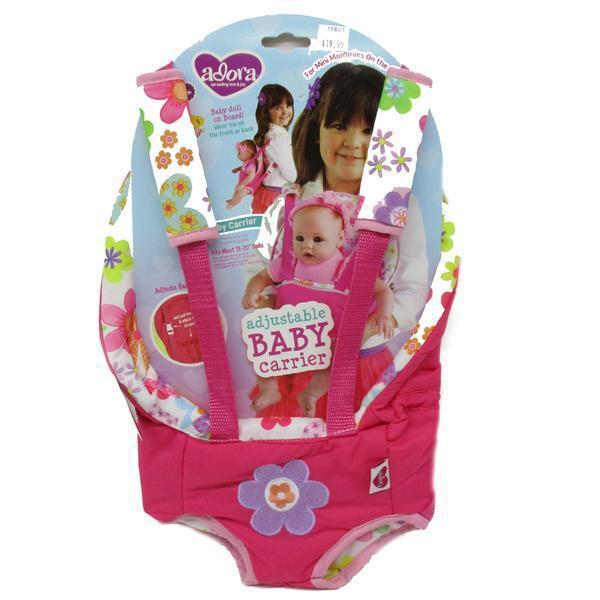 Adora Adjustable Baby Carrier Pink Flower Print