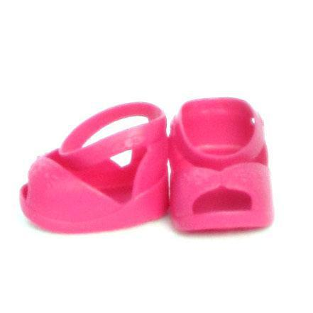 "CPK Hot Pink Open Toe Ankle Strap Fits 14""-20"""