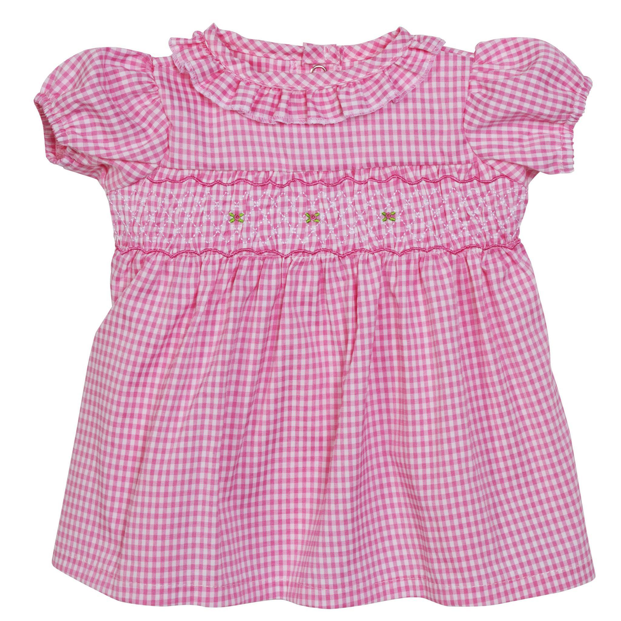 BLC CPK Dress Gingham Pink