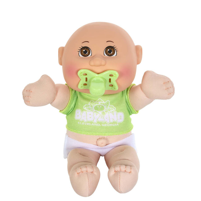 "9"" Mini Baby LGT BR BAL Green T-shirt"