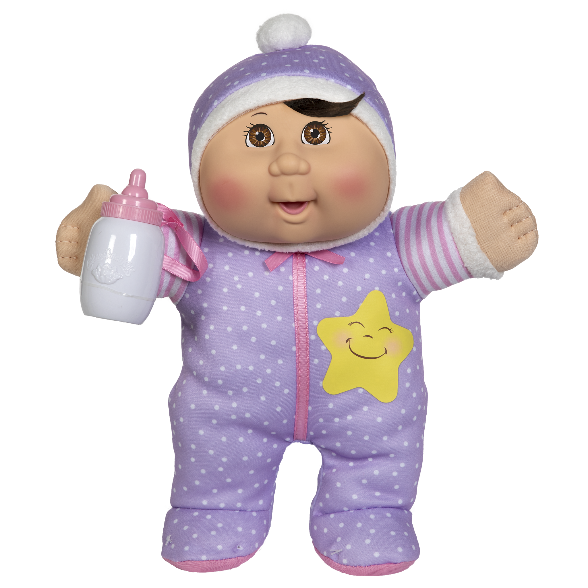 "11"" Lullaby Snuggles Lt Br Br Star"