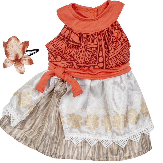 Lil Polynesian Princess Coronation Dress 16-17""